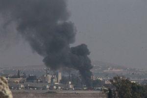 Halep'te hava saldırısı,18 ölü