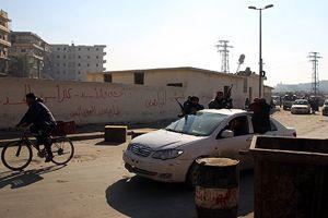 Halep'teki halk IŞİD'e tepkili