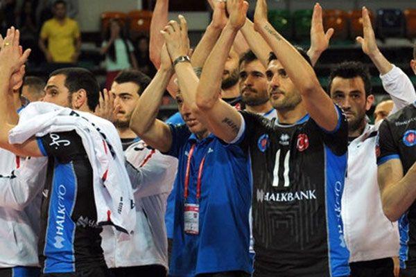 Halkbank yarı finalde