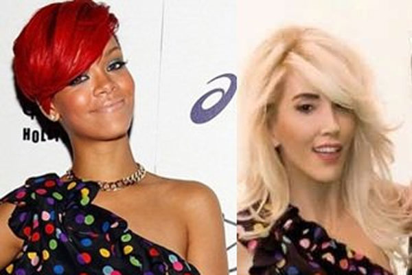 Hande Yener'den Rihanna modeli