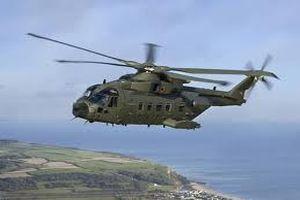 Mardin'de bir askeri helikopter düştü
