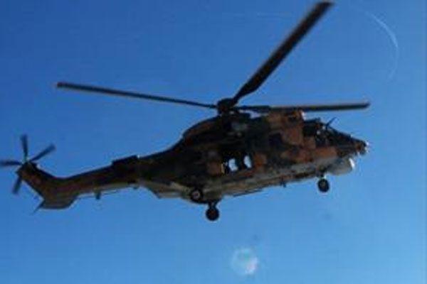 2 helikopter 70 kişilik ekiple aranıyor