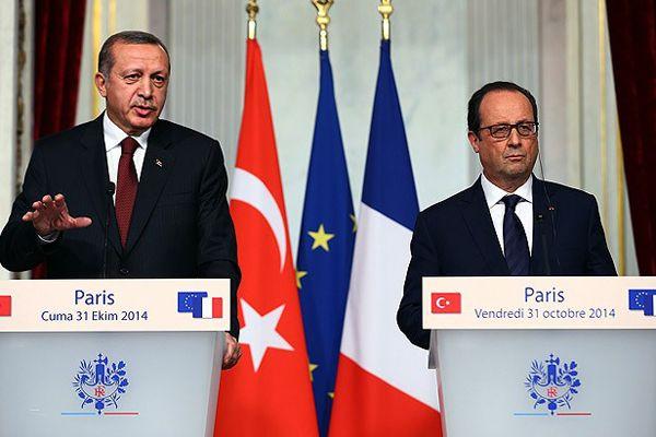 Erdoğan ve Hollande ortak açıklama yaptı
