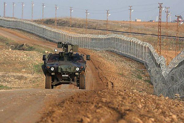 Hudut Devriye Timi'ne Suriye tarafından ateş açıldı