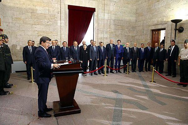 62. Hükümetten Anıtkabir'e ziyaret