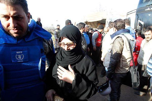 Humus'tan 83 kişi tahliye edildi