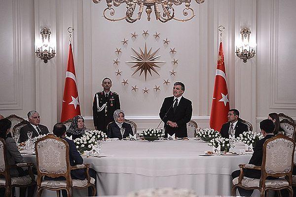 Cumhurbaşkanı Gül'den şehit aileleri ve gazilere iftar