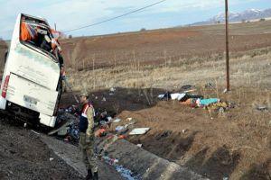 Sivas'taki otobüs kazasında şok iddia