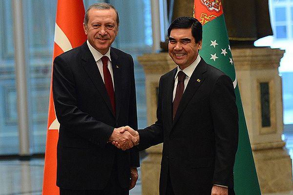 Erdoğan, 'Türkiye ile Türkmenistan ilişkileri artarak devam edecek'
