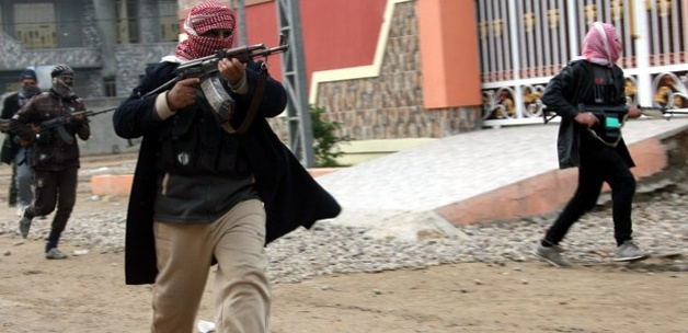 Irak'ta IŞİD örgütüne operasyon