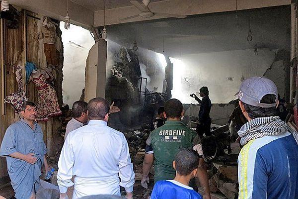 Irak ordusu varil bombalarıyla saldırdı
