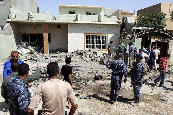 Irak'ta düzenlenen bombalı saldırılarda 10 kişi öldü