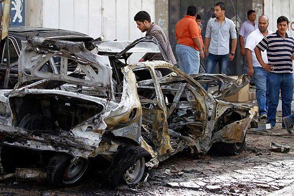 Bağdat'ta patlamalar, 9 ölü