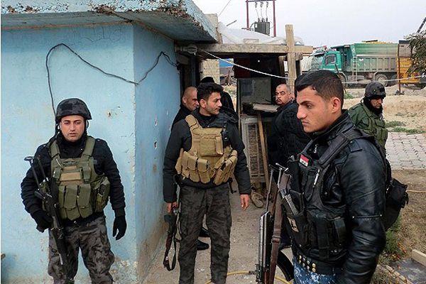 Irak'ta 20 polis kaçırıldı