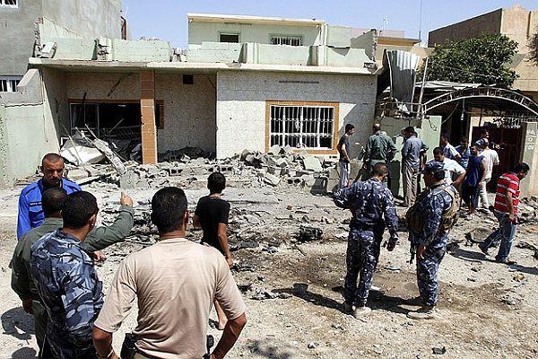 Irak'ta bombalı saldırı, 10 ölü, 68 yaralı