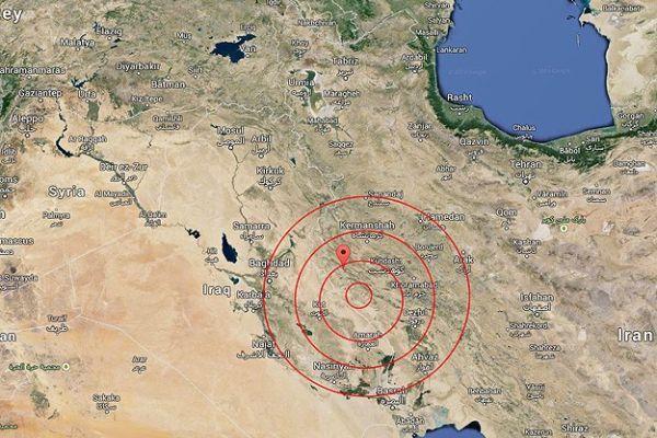 İran depremlerle sarsıldı!