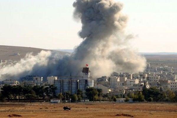 IŞİD'den Kobani'ye çok şiddetli saldırılar başladı