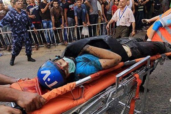 İsrail Gazze'de gazetecileri öldürüyor