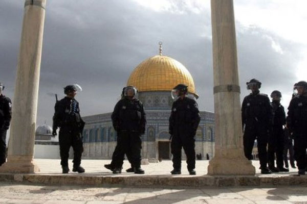 İsrail Kadir Gecesi öncesi Mescid-i Aksa'da bunu da yaptı