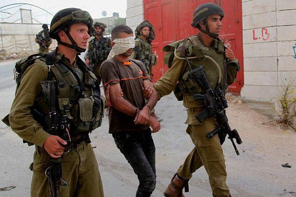 İsrail 468 filistinliyi gözaltına aldı