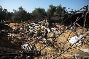 İsrail'den Gazze'ye hava saldırısı, 5 yaralı