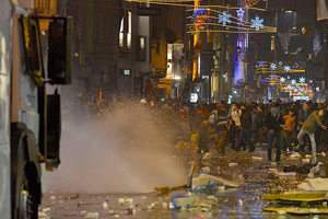 Ankara ve Taksim'de izinsiz gösteriye müdahale