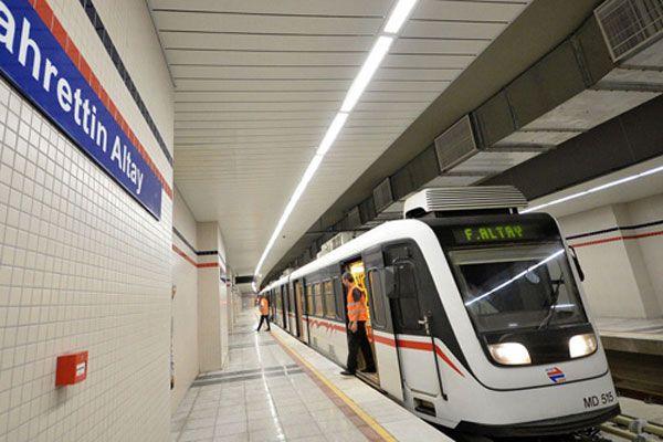 İzmir Metrosu'nda mutlu son