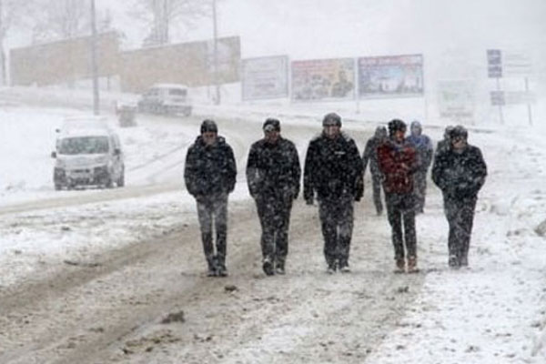 Meteoroloji'den kuvvetli kar uyarısı
