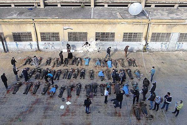 Suriye'deki vahşetin fotoğrafları BMGK'da