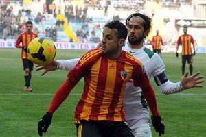 Kayseri'de puanlar paylaşıldı