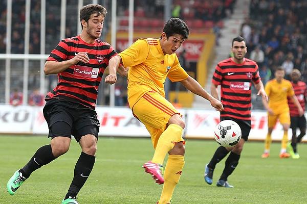 Gaziantepspor 2 Kayserispor 1