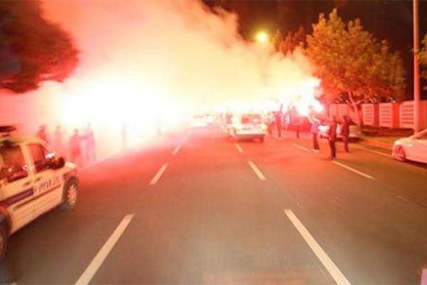 Kayseri'de Galatasaray coşkusu