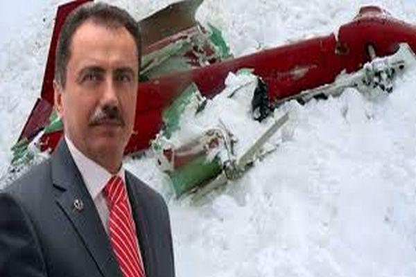 Muhsin Yazıcıoğlu kazasında müthiş iddia
