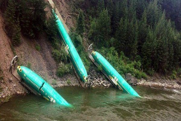 İşte dünyanın en garip uçak kazası