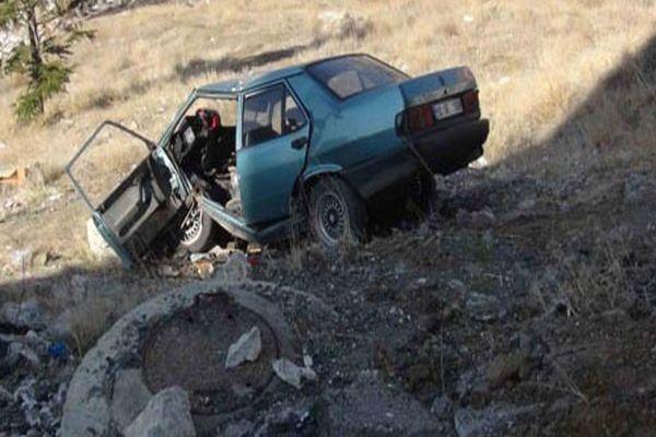 Eşine 'arabayı biraz git' dedi, kaza kaçınılmaz oldu