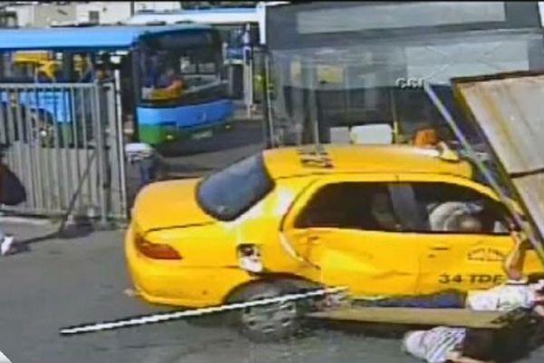 Kabataş'taki kaza Kübra'nın hayatını kararttı! İşte o kaza anı -İZLE
