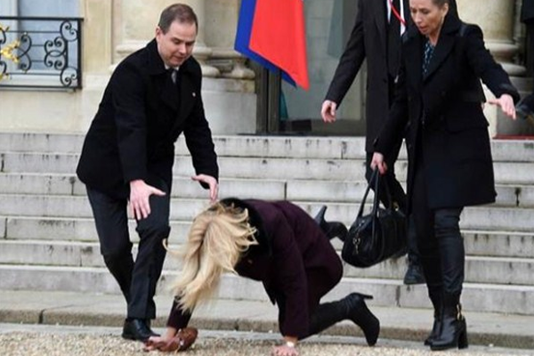 Danimarka Başbakanı'nın talihsiz kazası