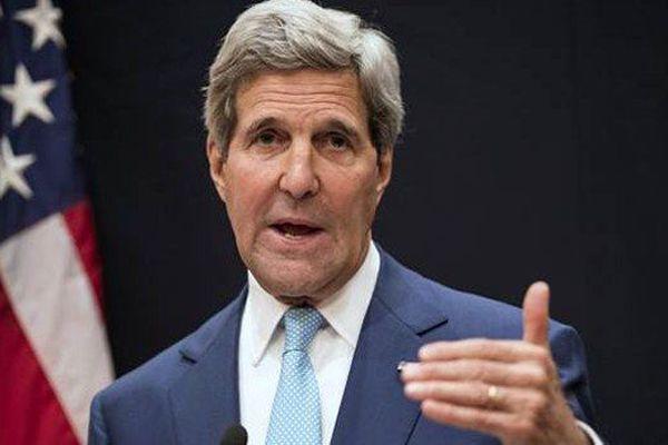 ABD Dışişleri Bakanı Kerry Bağdat'ta