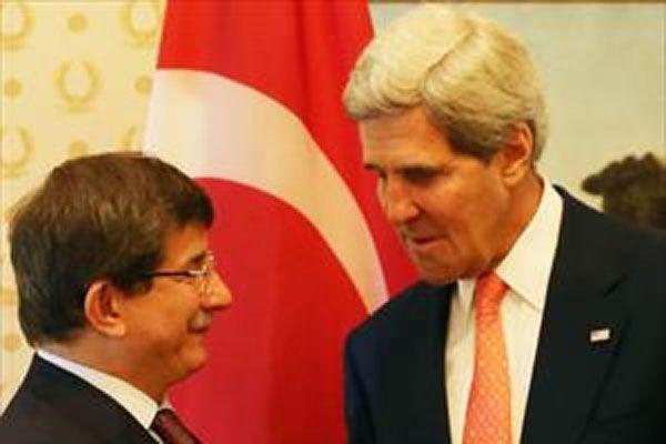 Kerry ve Davutoğlu Irak'taki son durumu görüştü