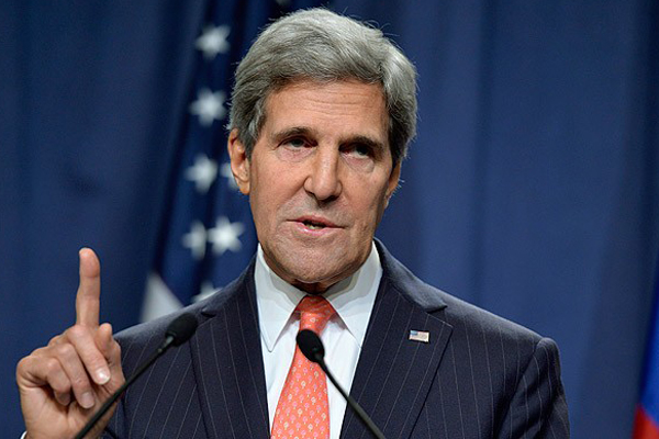 Kerry, 'Obama çeşitli seçenekleri düşünmemizi istedi'