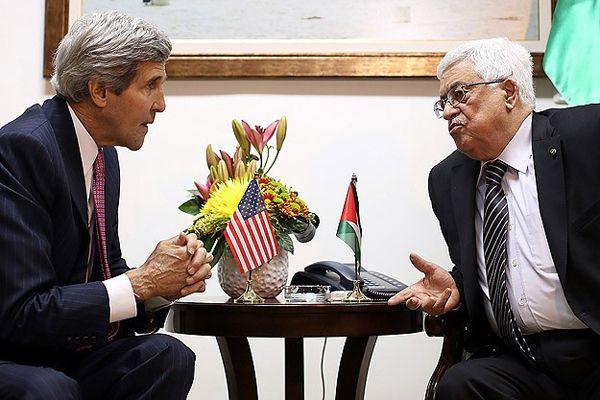Kerry ve Abbas telefonda 'Gazze'de ateşkes'i görüştü