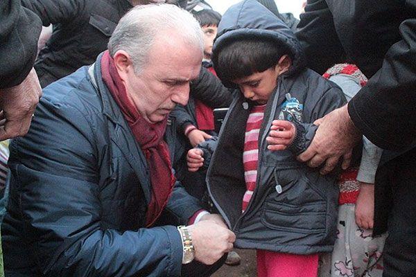 İyilik kervanı Suriyeli misafirlere ulaştı