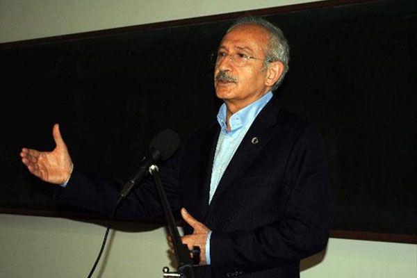 Kemal Kılıçdaroğlu esti gürledi