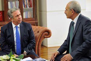 Kılıçdaroğlu, Mansur Yavaş ile görüştü