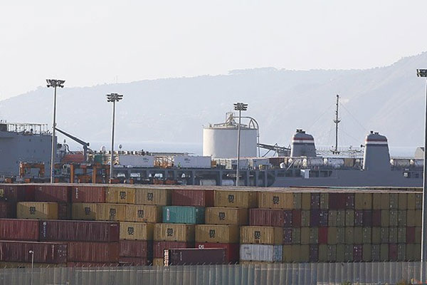 Suriye'ye ait 200 ton kimyasal silah limana getirildi