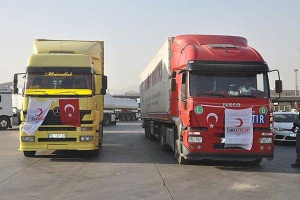 Kızılay'dan Türkmenlere yardım eli