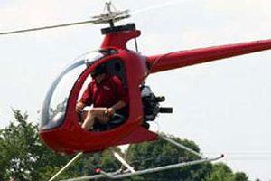 KKTC'de helikopter düştü