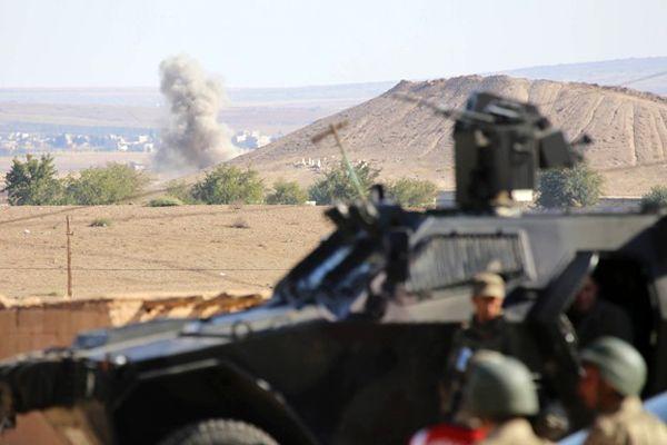 Kobani'de çatışmalar yoğunlaştı