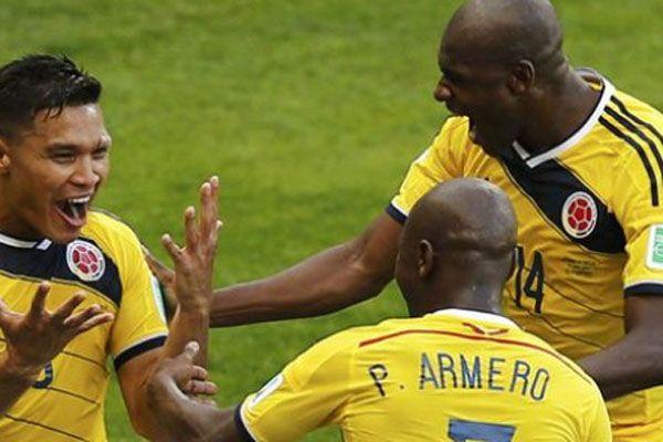 Kolombiya Yunanistan'ı Dünya Kupası'nda 3-0'la geçti