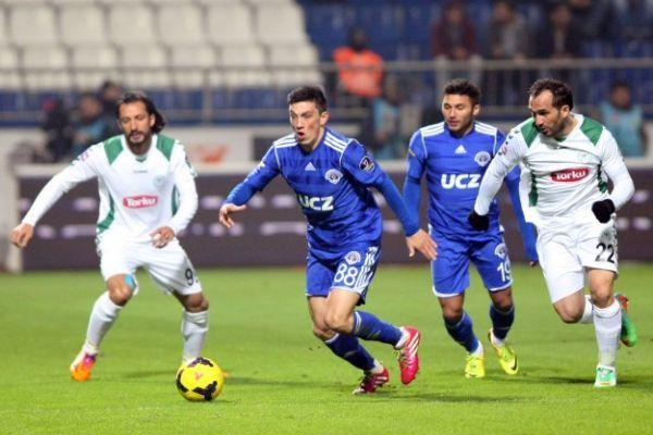 Torku Konyaspor Kasımpaşa'yı deplasmanda 3-1 yendi